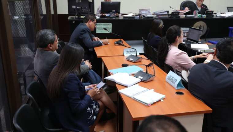 Cuatro personas, incluido Gustavo Alejos, quedaron ligados a proceso. (Foto Prensa Libre: Esbin García)