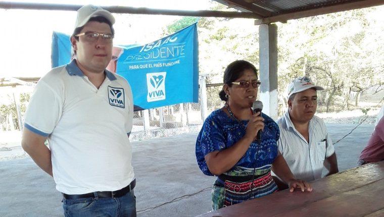 Julio José Rosales Morales, en una actividad en Retalhuleu. (Foto Prensa Libre: Tomada de Facebook)
