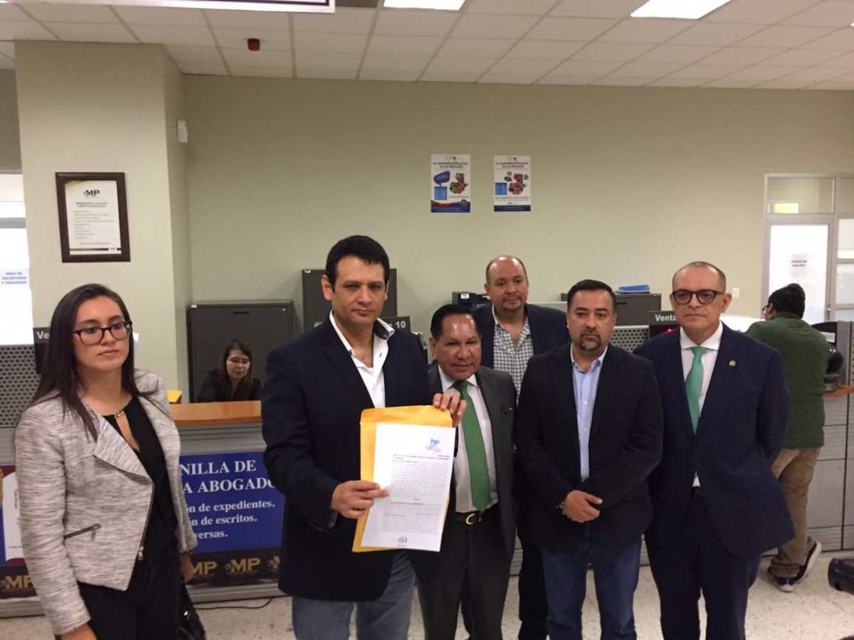 UNE denuncia a Juan Francisco Sandoval por la filtración de audio de Sandra Torres y Gustavo Alejos