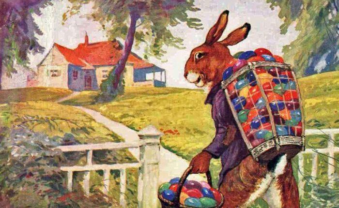 Los huevos y el conejo de Pascua tenían su origen en festivales paganos.