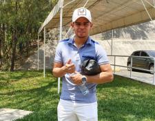 Alexander Larín por su inminente regreso a los terrenos de juego. (Foto Prensa Libre: La Red)