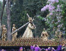 Procesiones de Jesús de la Merced en Antigua Guatemala y Ciudad de Guatemala