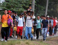 La inversión millonaria busca crear oportunidades en Centroamérica que eviten la migración indocumentada a Estados Unidos. (Foto Prensa Libre: Hemeroteca PL)