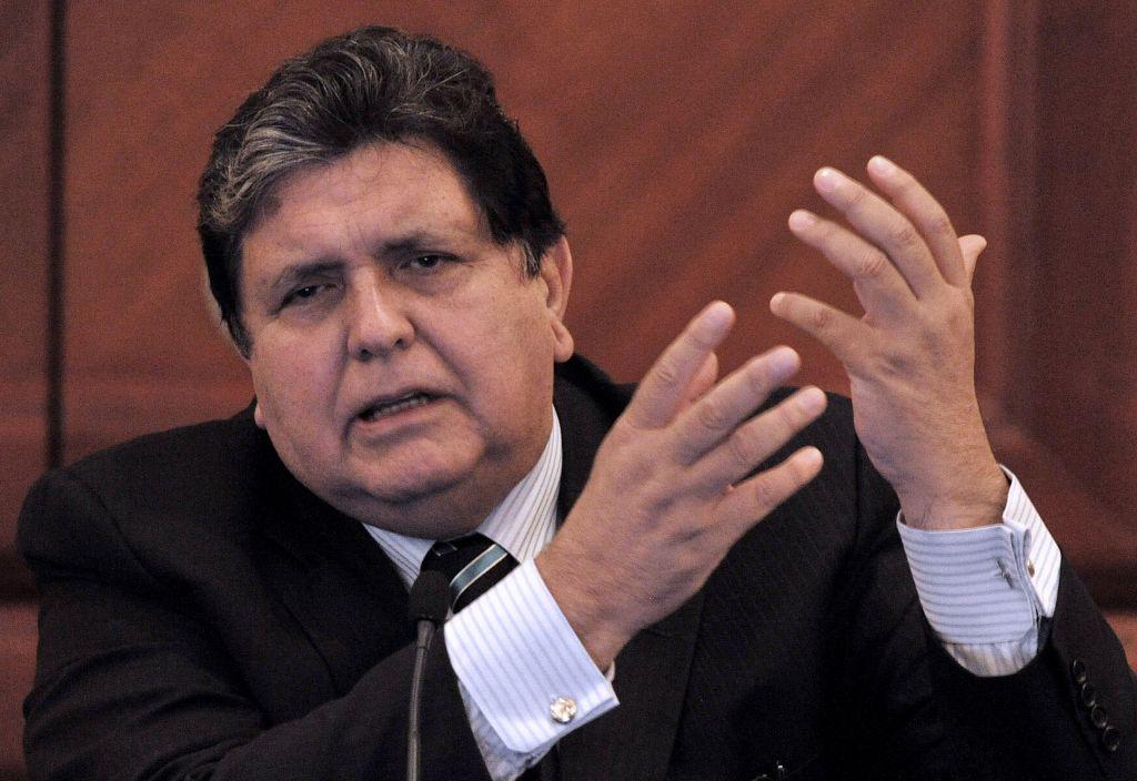 """En su carta, García asegura que """"no hubo ni habrá cuentas, ni sobornos, ni riqueza, la historia tiene más valor que cualquier riqueza material"""". (Foto Prensa Libre: AFP)"""