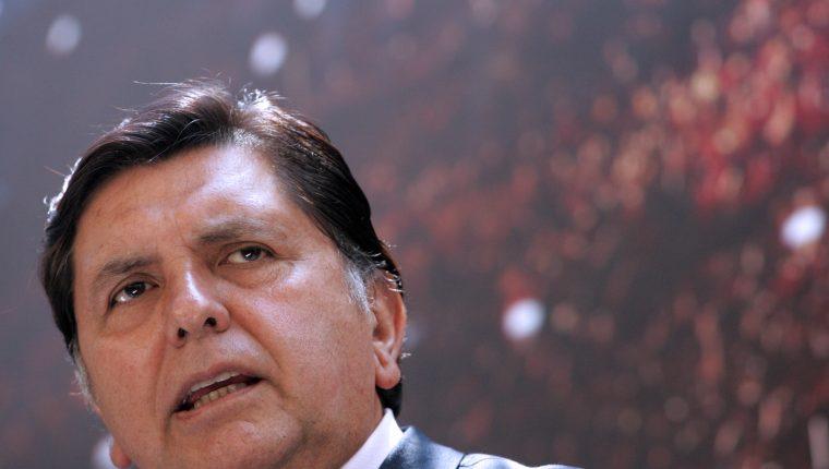 El expresidente peruano Alan García murió en un hospital de Lima, Perú. (Foto Prensa Libre: AFP)