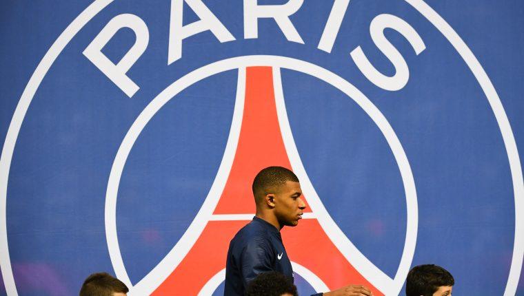 El delantero Kylian Mbappe es el rey del campeón francés. (Foto Prensa Libre: AFP)