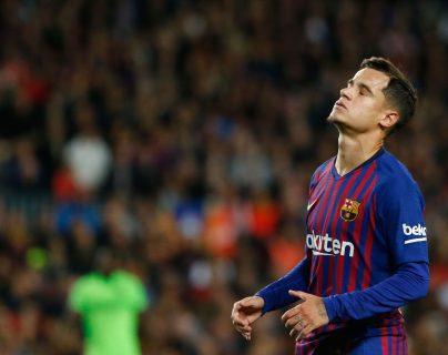 Philippe Coutinho no tuvo un buen paso por el Barcelona, pero ellos todavía son dueños de sus papeles. (Foto Prensa Libre: Hemeroteca PL)