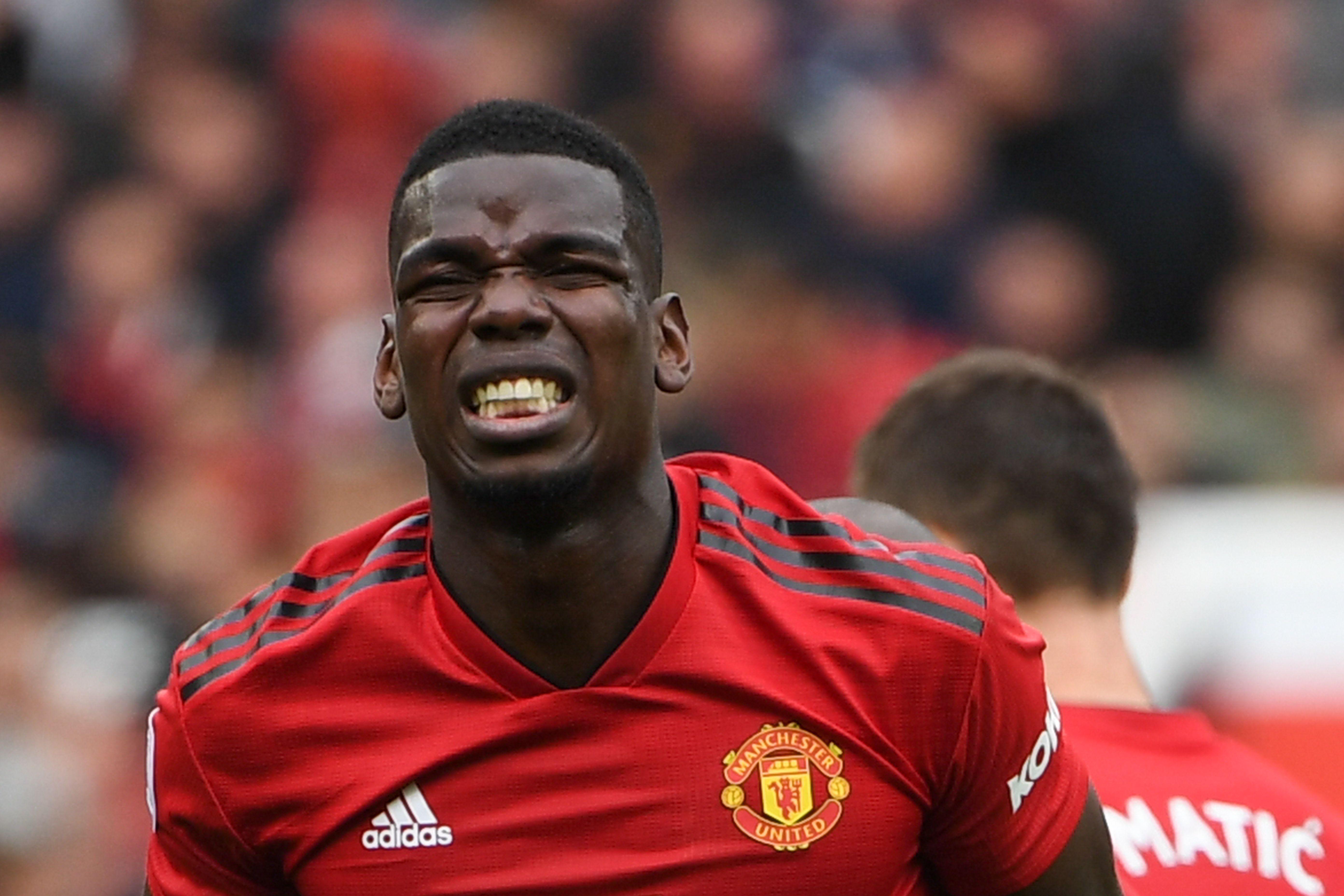 Paul Pogba podría dejar de ser jugador del Manchester United. (Foto Prensa Libre: AFP)