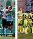 Los jugadores de Sanarate y Chiantla esperan salvar a sus formaciones. (Foto Prensa Libre: Hemeroteca PL)