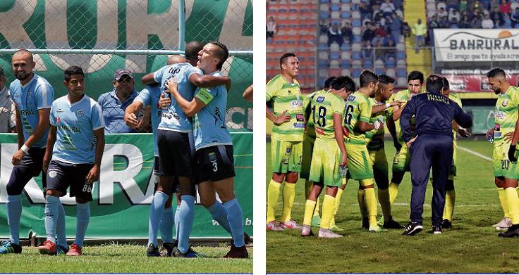 Chiantla y Sanarate tienen una intensa batalla por la permanencia en Liga Nacional