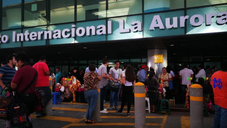 Aeropuerto Internacional La Aurora. (Foto, Prensa Libre: Hemeroteca PL).