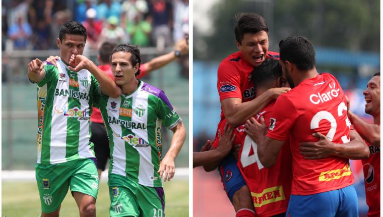 Los equipos de Antigua GFC y Municipal deberán buscar la victoria. (Foto Prensa Libre: Francisco Sánchez)