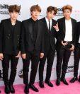 BTS o Bangtan Boys son uno de los grupos más relevantes en el K-Pop actualmente. Su nombre significa Boy Scouts a prueba de balas. (Foto Prensa Libre: AFP)