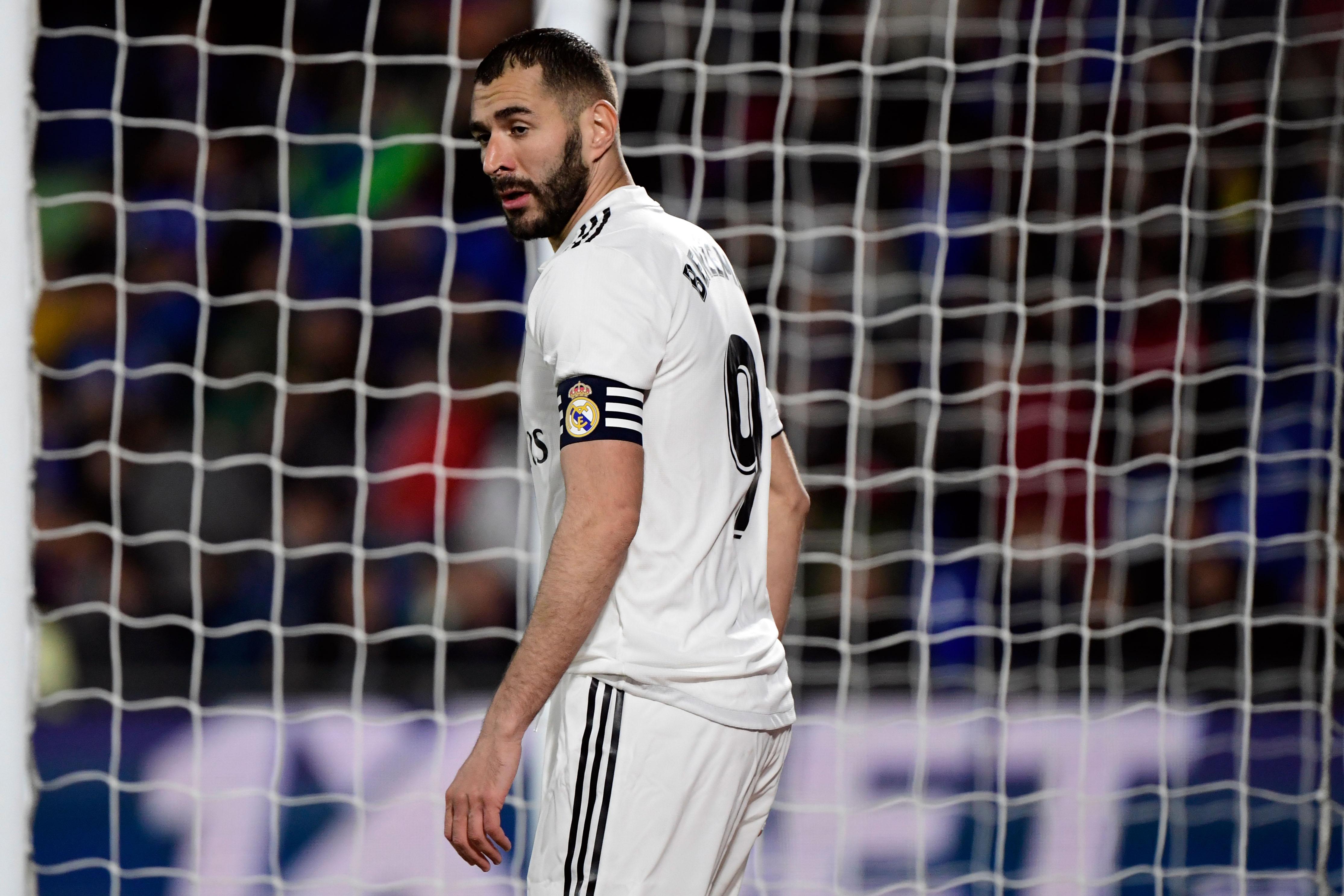 Karim Benzema no estuvo contra el Vallecano debido a una lesión. (Foto Prensa Libre: AFP)