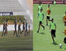 Comunicaciones y Municipal se verán las caras mañana, en el estadio Doroteo Guamuch Flores, en el Clásico 305 (Foto Prensa Libre: Hemeroteca PL)