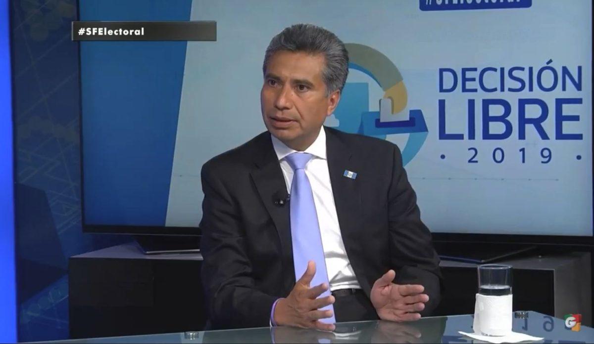 Fredy Cabrera: Antes de ingresar al partido Todos vi su ideología