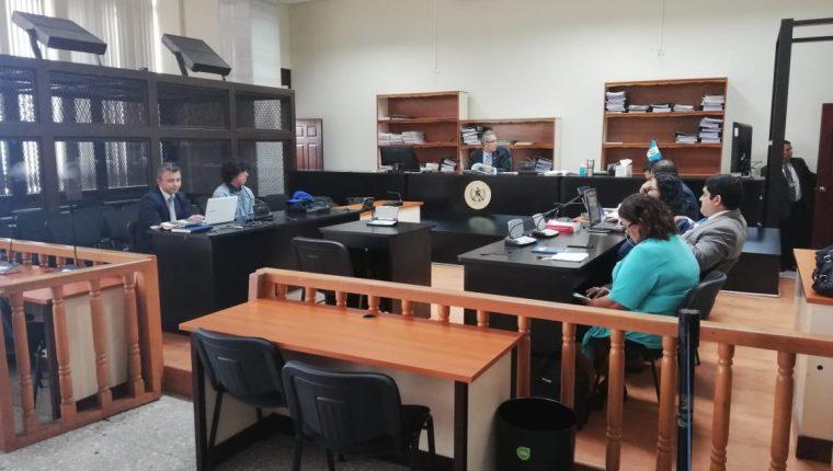 Adrian Israel Yela Gómez, fue beneficiado con el sobreseimiento en el caso La Línea. (Foto Prensa Libre: Kenneth Monzón)