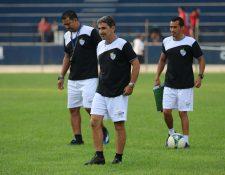 El técnico Fabricio Benítez espera ganar la clasificación del Clausura. (Foto Prensa Libre: Eduardo Sam Chun)