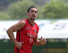 Christopher Ramírez se ha convertido en un jugador importante para el bicampeón Guastatoya. (Foto Prensa Libre: Francisco Sánchez)