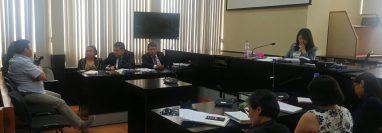 La jueza Erika Aifán deberá agendar la audiencia del ofrecimiento de las pruebas y revisión de medidas de coerción del caso Comisiones Paralelas. (Foto Prensa Libre: Hemeroteca PL)