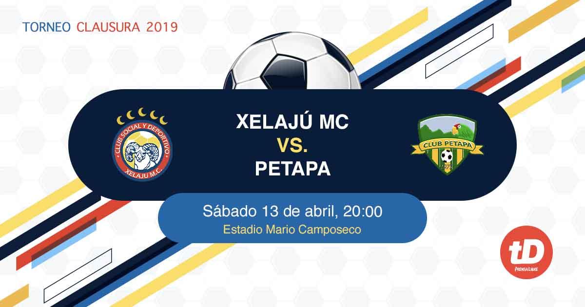 EN DIRECTO | Xelajú MC vs Deportivo Petapa
