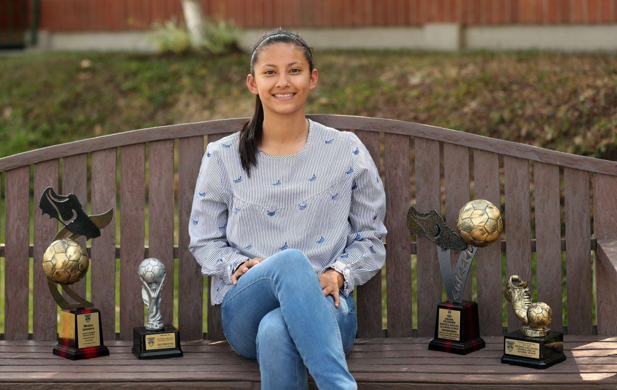 Ella es Andrea Álvarez, la sensación del futbol femenino guatemalteco