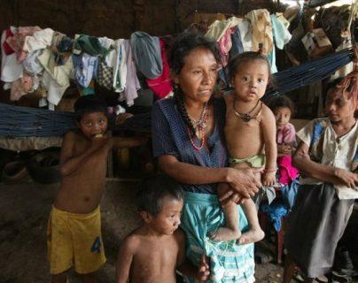 Uno de cada dos niños en Guatemala padece de desnutrición crónica. (Foto Prensa Libre: Hemeroteca PL)
