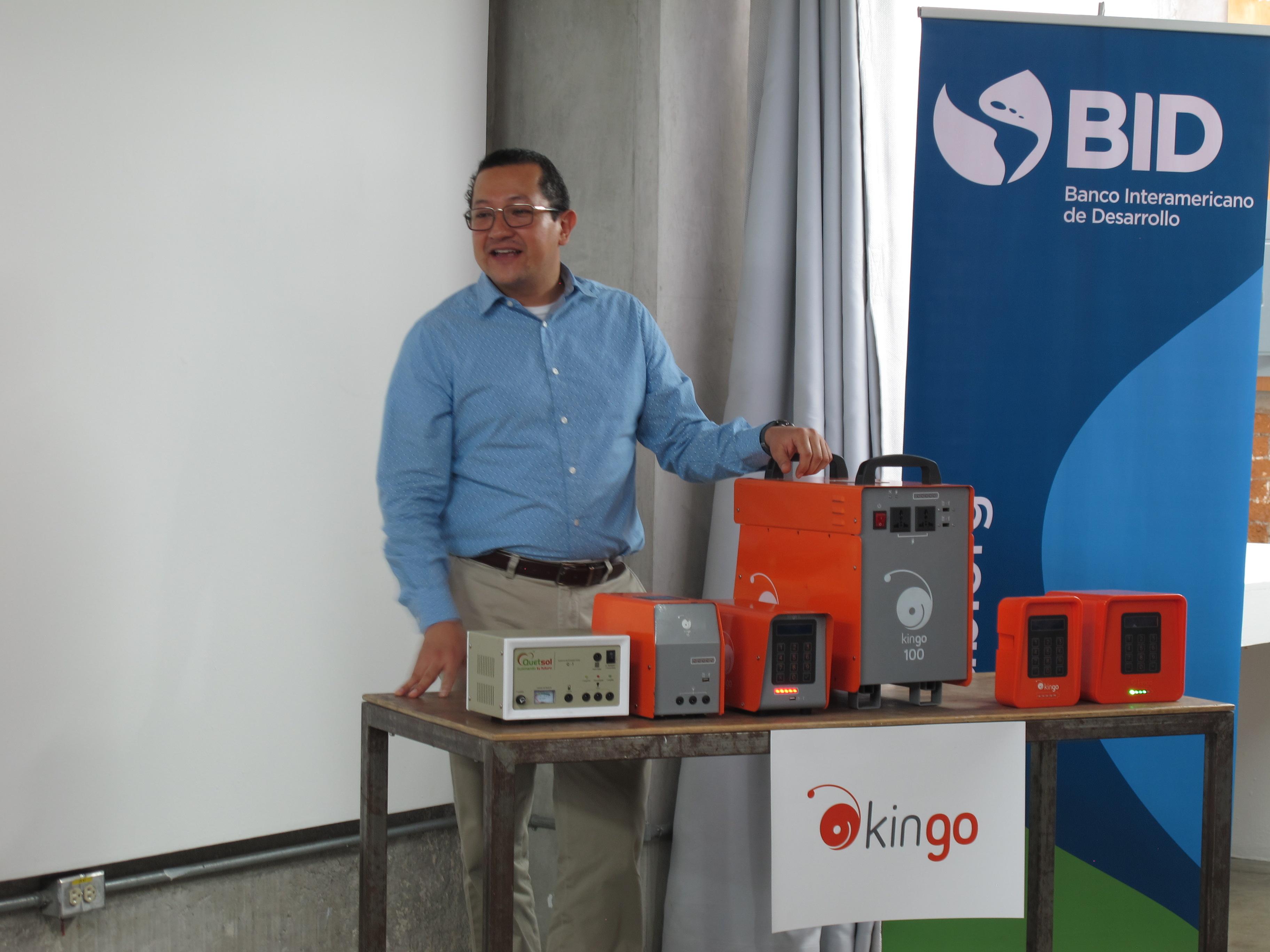 En este laboratorio habrá maquinaria para desarrollar tecnologías de punta con el objetivo de llevar electricidad a áreas rurales del país.  (Foto Prensa Libre: María Reneé Barrientos)