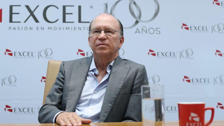 Ricardo Poma representa la tercera generación de empresarios del conglomerado empresarial dueño de Excel, con operaciones en Guatemala. (Foto Prensa Libre: Érick Ávila)