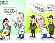 Personajes: Carlos Soto y Jorge Villavicencio.