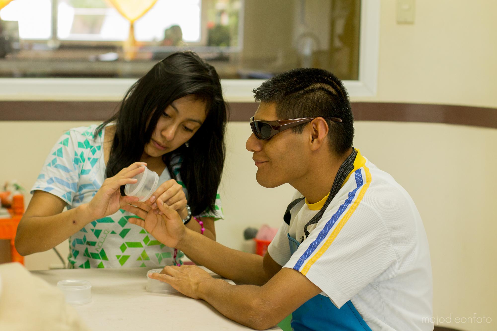 La función de Fundal es brindar atención personalizada a niños y adolescentes con discapacidad. (Foto Prensa Libre: Cortesía).