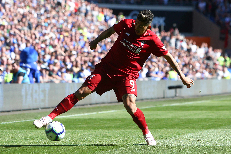 Roberto Firmino sufrió una lesión y es duda para el juego de ida. (Foto Prensa Libre: AFP)