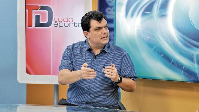 CIUDAD DE GUATEMALA, 02/05/2016, Gerardo Paiz de la Liga Futsal de Guatemala TodoDeportes La Entrevista. (Foto Prensa Libre: Gloria Cabrera)