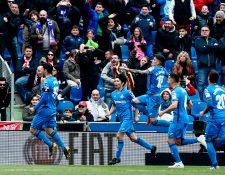 Getafe, impresiona en la Liga Española. (Foto Prensa Libre: AFP)