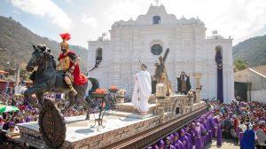 Su procesión inicia a las 10 de la mañana. Foto Prensa Libre: Pablo Burmester
