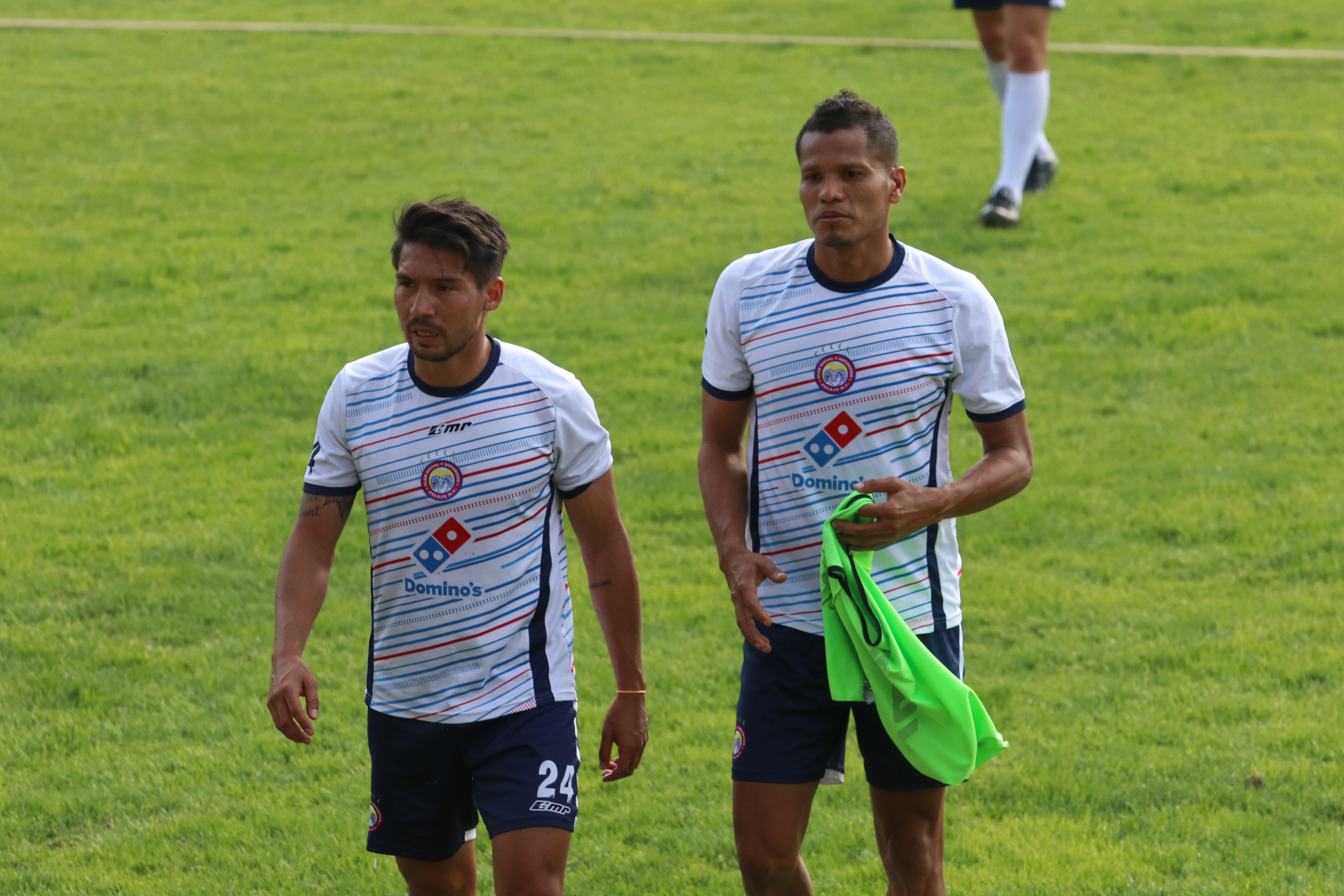 El equipo quetzalteco retornó a los trabajos para preparar el juego de mañana ante Chiantla a las 20 horas en el estadio Los Cuchumatanes. (Foto Prensa Libre: Raúl Juárez)
