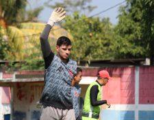 Manuel Sosa es el tercer portero menos vencido del torneo y pieza importante en el armado del técnico Ronald Gómez. (Foto Prensa Libre: Raúl Juárez)
