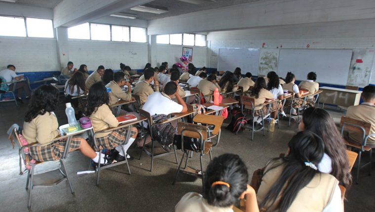Escuelas e institutos se utilizarán para las elecciones 2019. (Foto Prensa Libre: Hemeroteca PL)