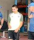 El mediocampista Jaime Alas podrá jugar contra Xelajú MC. (Foto Prensa Libre: Jeniffer Gómez)
