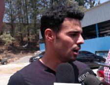 Juan Barrera espera celebrar un gol contra Comunicaciones en el Clásico. (Foto Prensa Libre: Carlos Vicente)