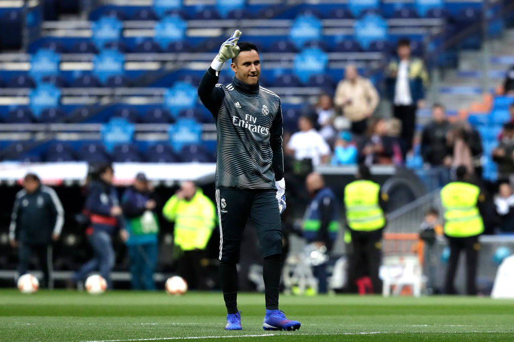 Keylor Navas habló sobre su futuro en el Real Madrid y de la actuación del portero Luka Zidane. (Foto Prensa Libre: AFP).
