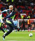 Sergio Agüero del Manchester City, está en el once de la Premier. (Foto Prensa Libre: EFE)