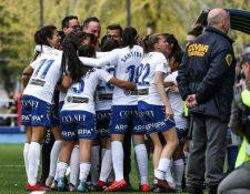 Zaragoza CFF se perfila para ganar el grupo 3 y avanzar entre los mejores ocho equipos de la Segunda División del Futbol Femenino de España. (Foto: Cortesía)