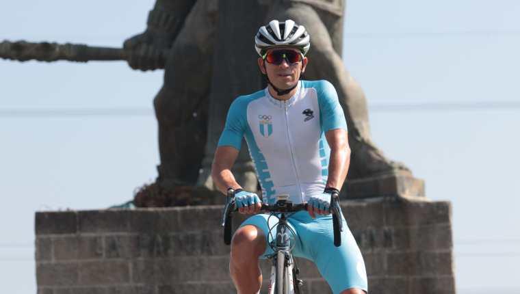 Manuel Rodas es el ciclista más completo de Centroamérica y ahora busca su pase a los Juegos Olímpicos. (Foto Prensa Libre: Raúl Juárez)