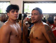 Léster Martínez y Ricardo Mayorga sostendrán hoy una pelea en Futeca Cayalá. (Foto Prensa Libre Carlos Vicente)