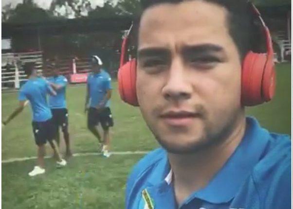 José Manuel Morales, hijo de Jimmy Morales, es la nueva sangre crema. (Foto Prensa Libre: redes)