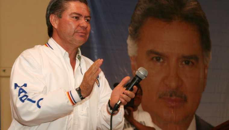 El presidenciable Mario Estrada está inscrito en el actual proceso electoral y sería  la cuarta ocasión que busca ser electo presidente. (Foto Prensa Libre: Hemeroteca PL)