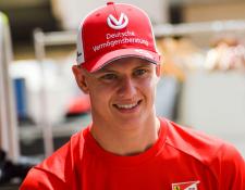 Mick Schumacher realizó una prueba con uno de los monoplazas de Ferrari. (Foto Prensa Libre: Fórmula 1)
