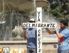 Viacrucis del Migrante en Guatemala.