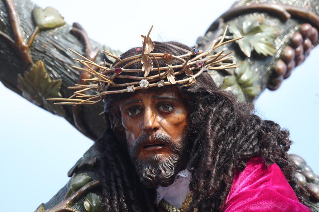 El nazareno es la imagen de pasión de la iglesia San Pedro Apostol conocida también como San Pedrito.